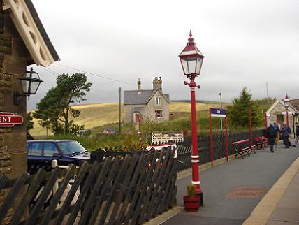 Settle-Carlisle railway, station Dent