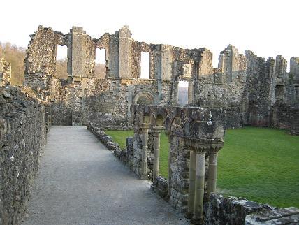Cistercian abbey at Rievaulx