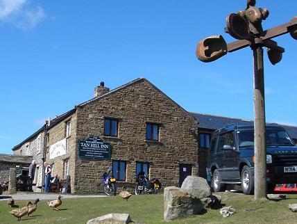 hiest pub in England - Tan hill Inn